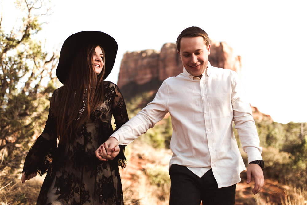 Sedona Arizona Engagment