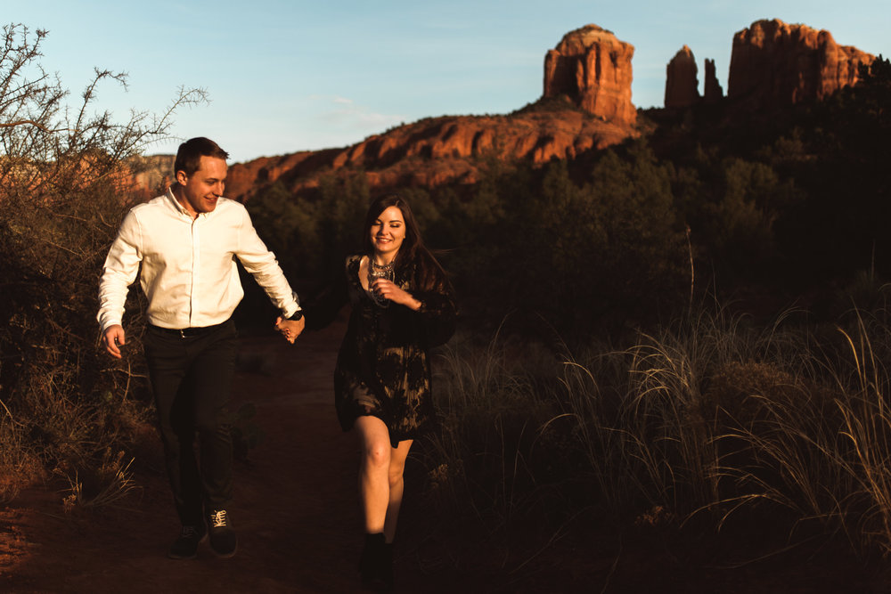 Sedona Arizona Engagement