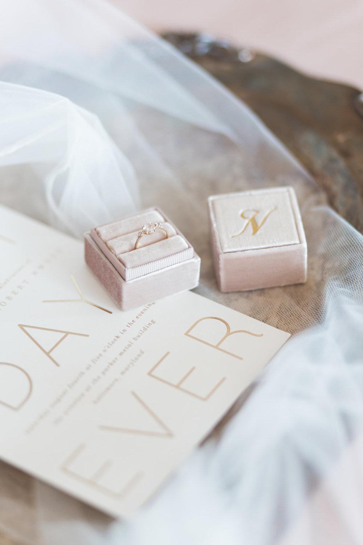 Mrs. Box wedding detail