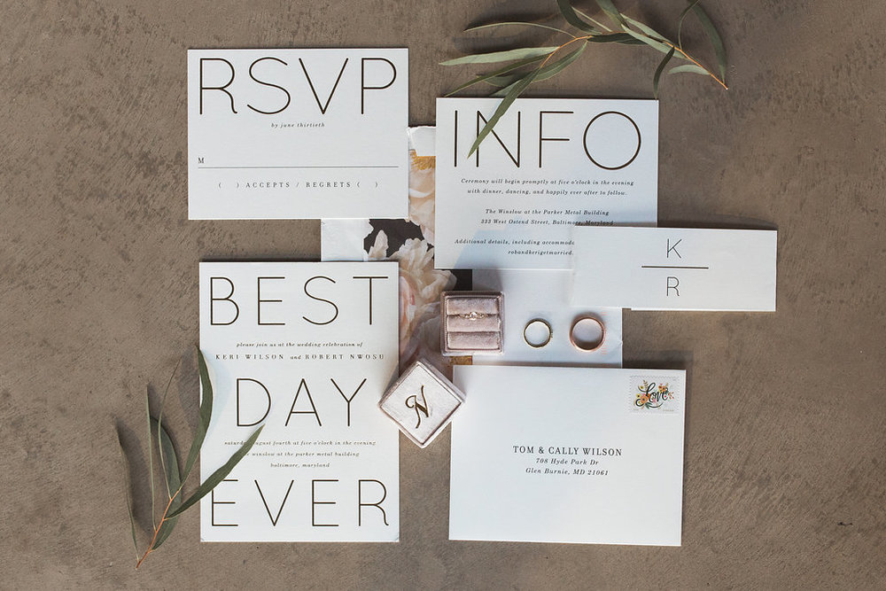 Best day ever invitation