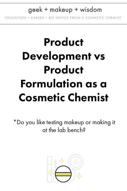 product development vs product formulation