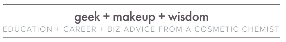 Pros And Cons Of Pursuing A Degree In Cosmetic Chemistry U2014 Geek + Makeup +  Wisdom
