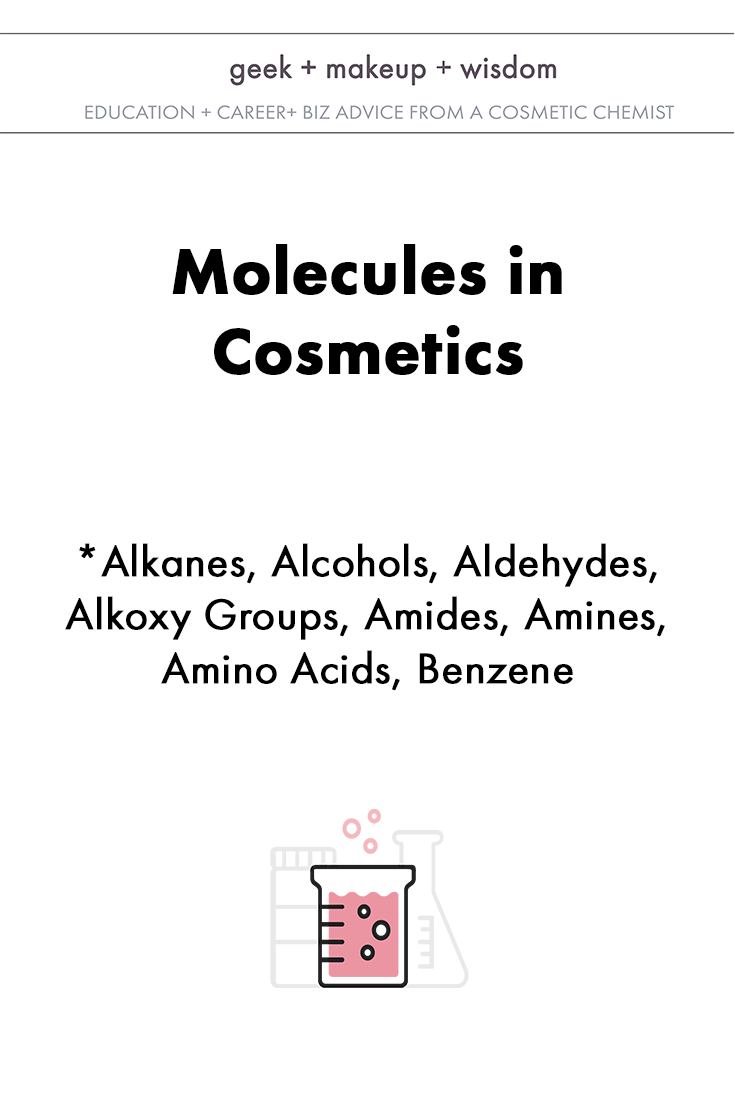molecules in cosmetics