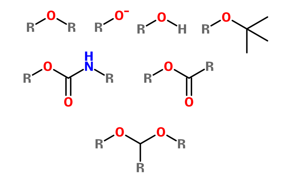 Figure 7. Alkoxy groups
