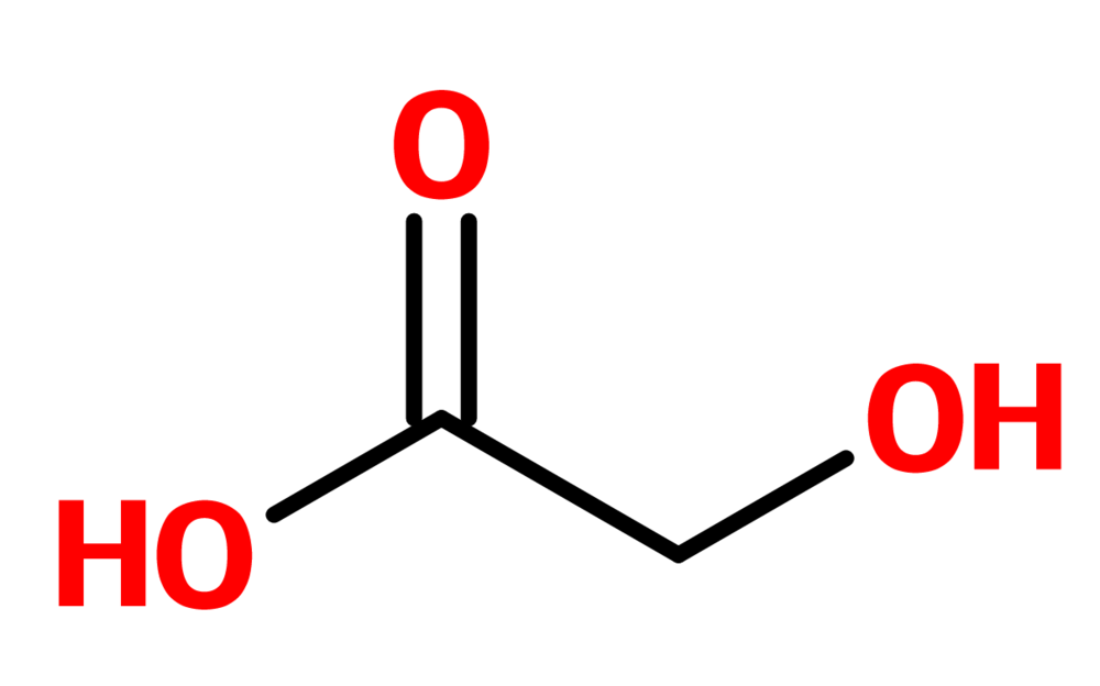 Figure 5. Glycolic acid
