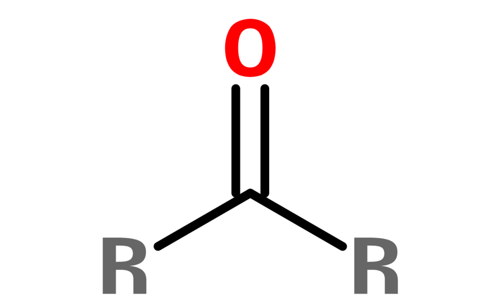 Figure 8. General structure of a ketone