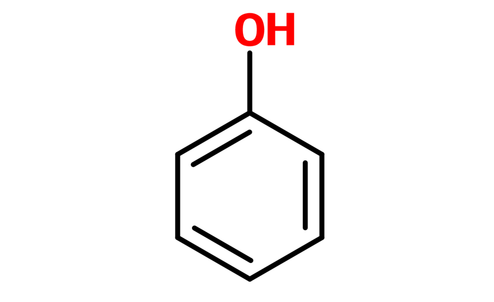 Figure 10. General structure of a phenyl ring
