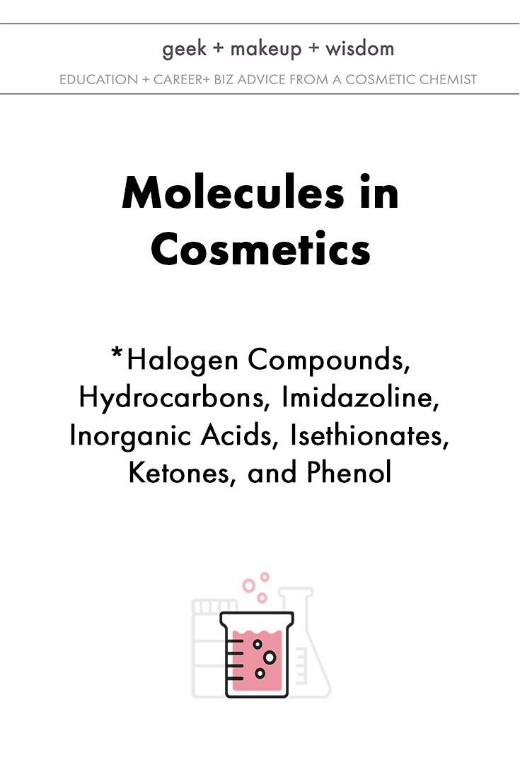 molecules in cosmetics day 3