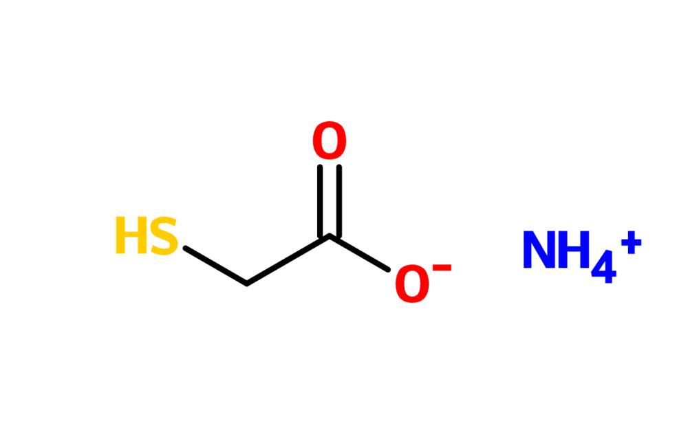Figure 12. Ammonium thioglycolate