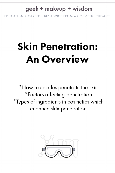 skin penetration an overview