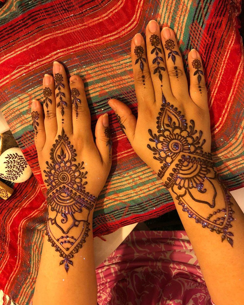 Moonchild Mehndi henna at Brentwood Social House