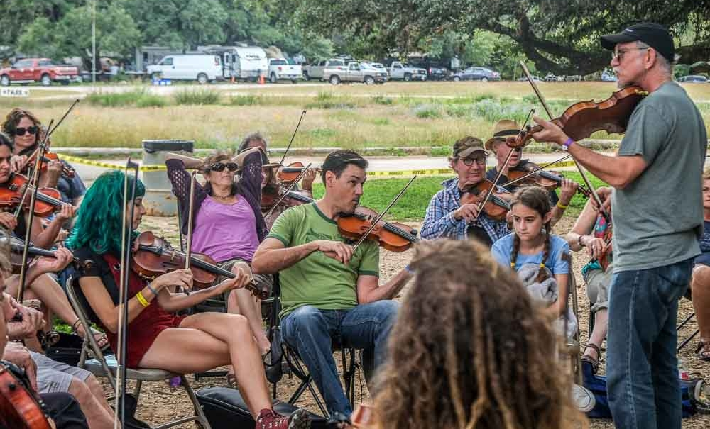 AUSTIN FRIENDS OF TRADITIONAL MUSIC JAM