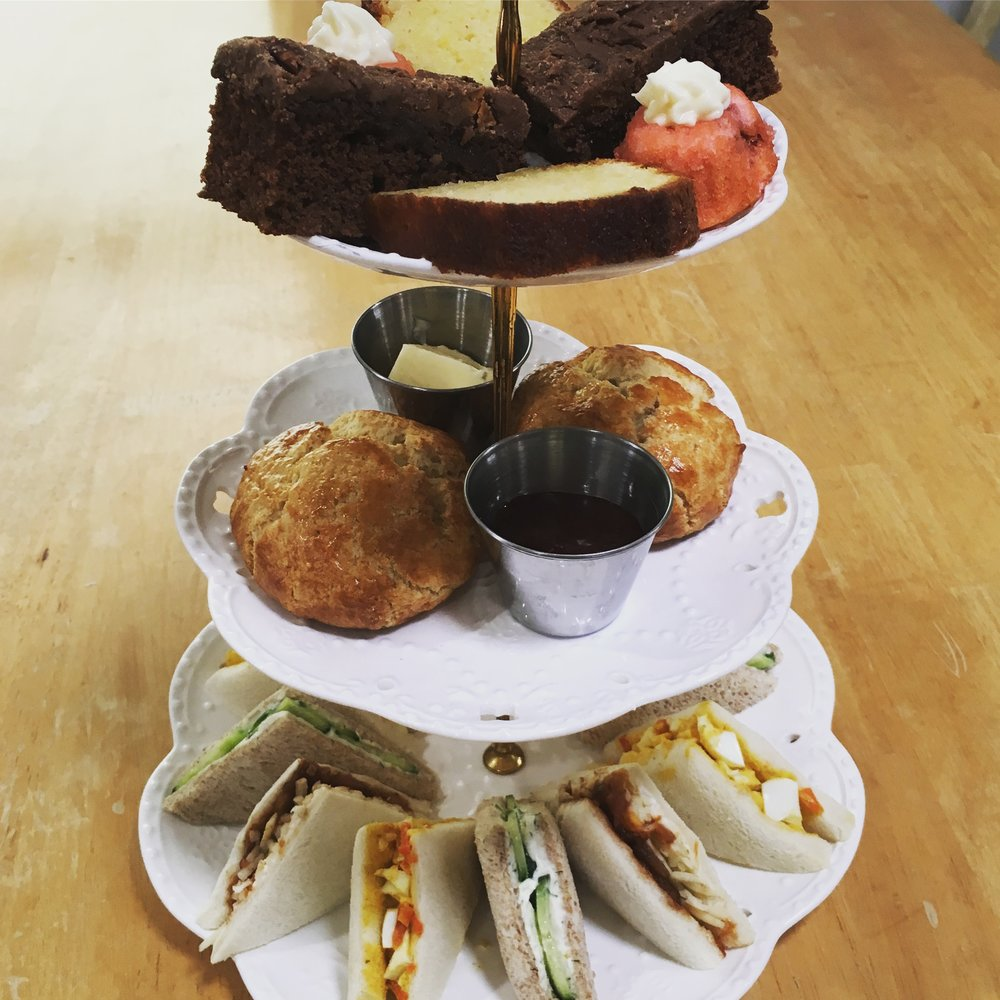 Sample Afternoon Tea Tiers