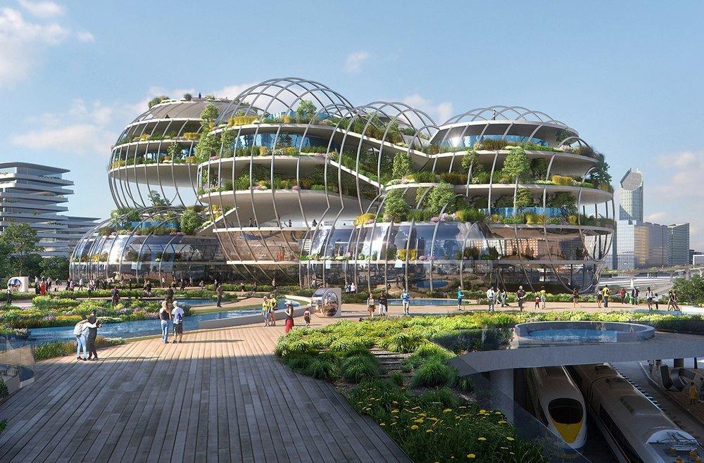 City of the Future. Zdroj: Plompmozes
