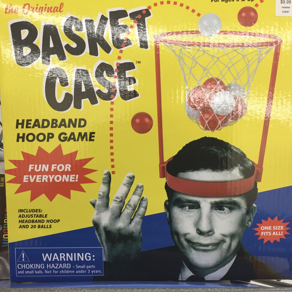 Ever feel like a human basket case?
