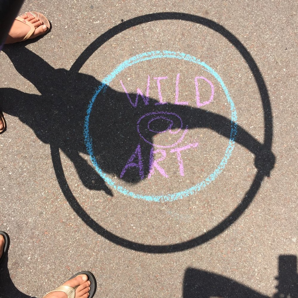 WILD@ART chalk art fun