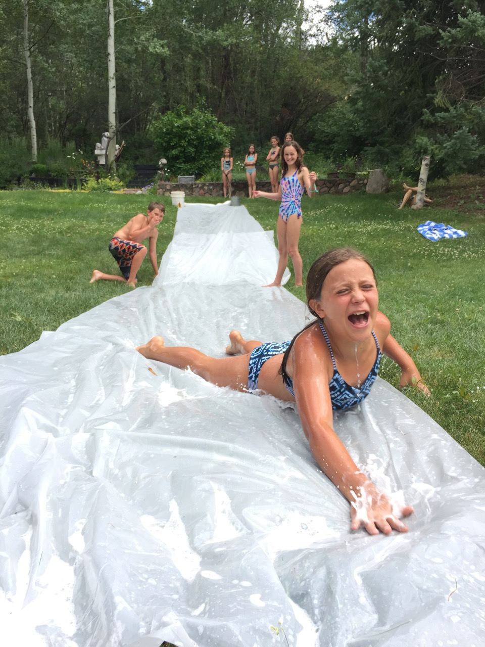 slip slidin' away...