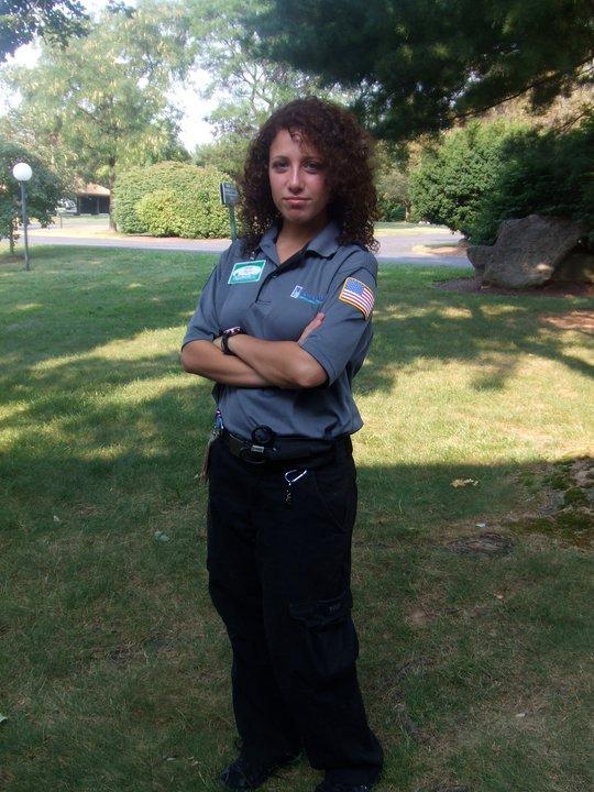 Me looking fierce in my Emergency Medical Technician uniform :-)