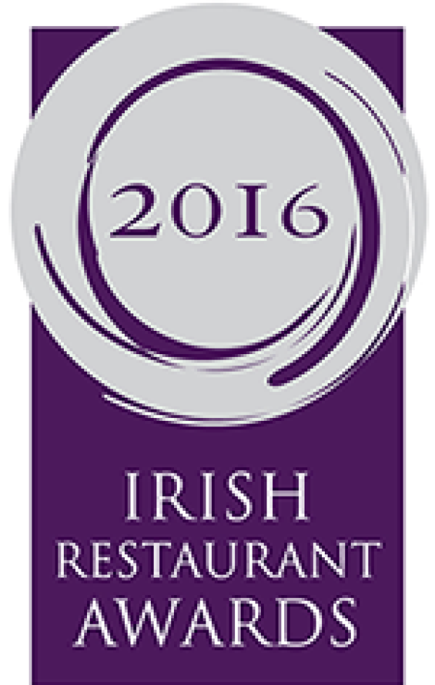 Nominated for Best Chef in Leinster, Restaurant Association Awards 2016