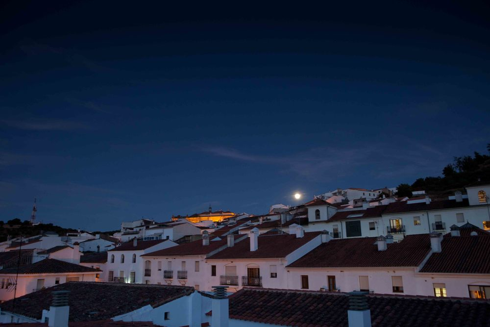 Aracena by night, b&b Aracena
