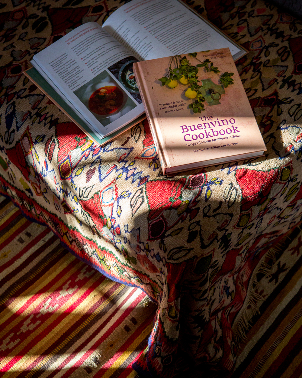 The Buenvino Cookbook, Finca Buenvino b&b and cookery courses in Spain