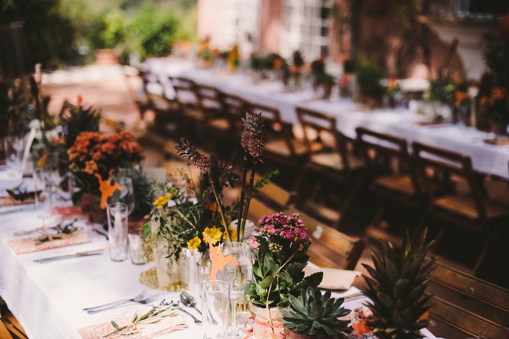 Wedding preparation, Buenvino villa, Aracena