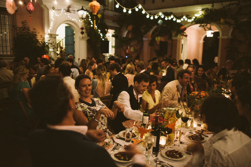 Wedding celebrations, Buenvino bed and breakfast near Seville