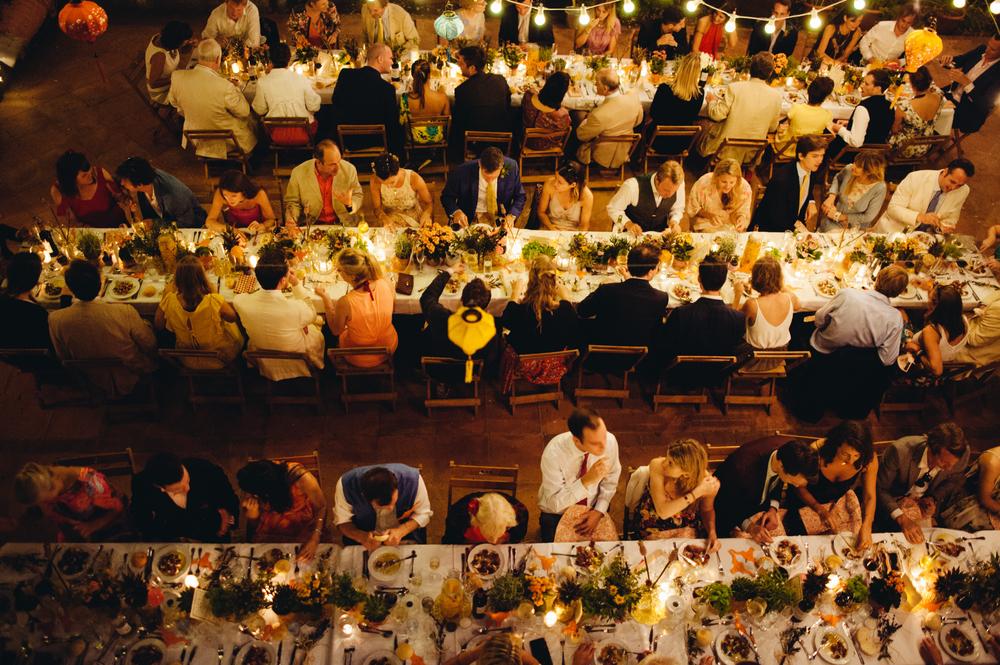 Wedding party, Aracena, Spain
