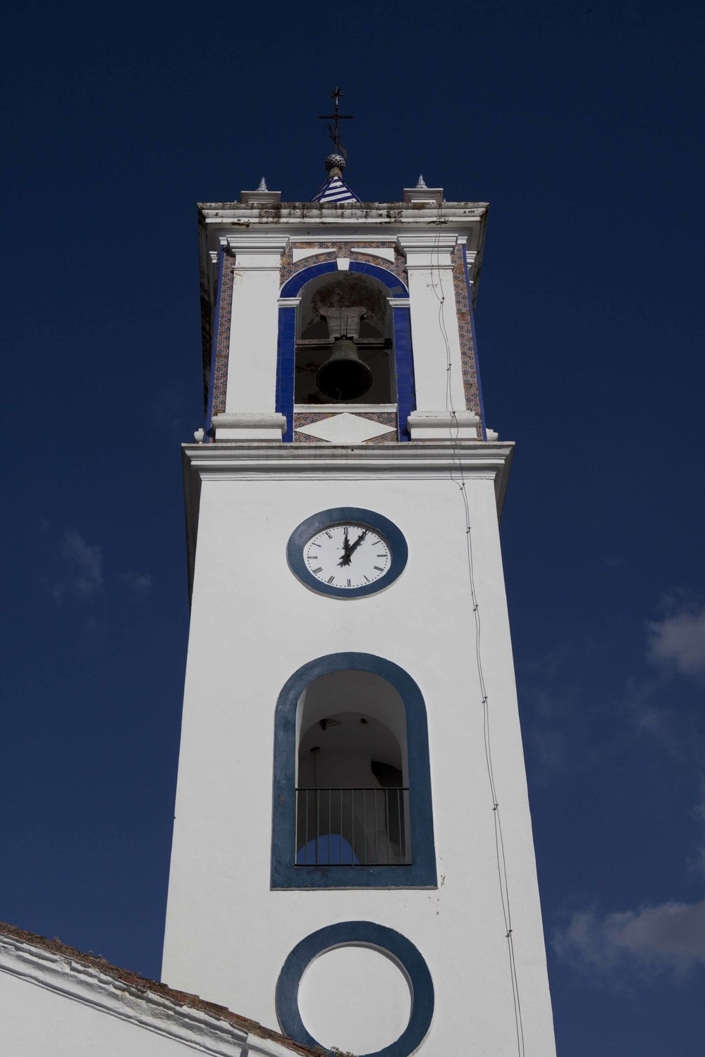 Aracena bell tower near Finca Buenvino b&b, Andalusia