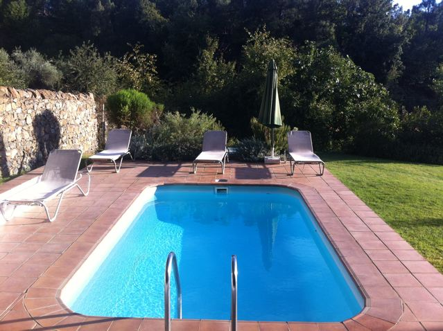The private pool, Casita de Platero self-catering cottage