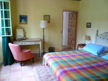 The double bedroom, Casita de Luis