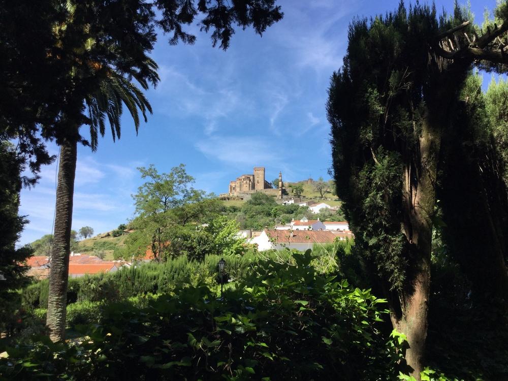 Aracena town, near Finca Buenvino villa, Andalusia