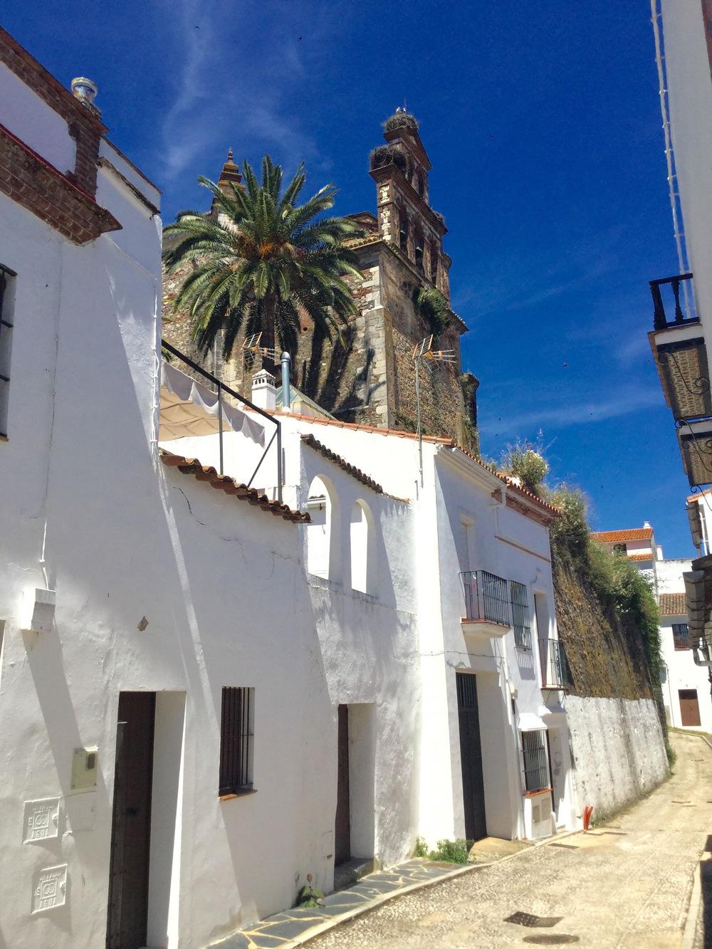 Aracena street, near Buenvino b&b near Seville