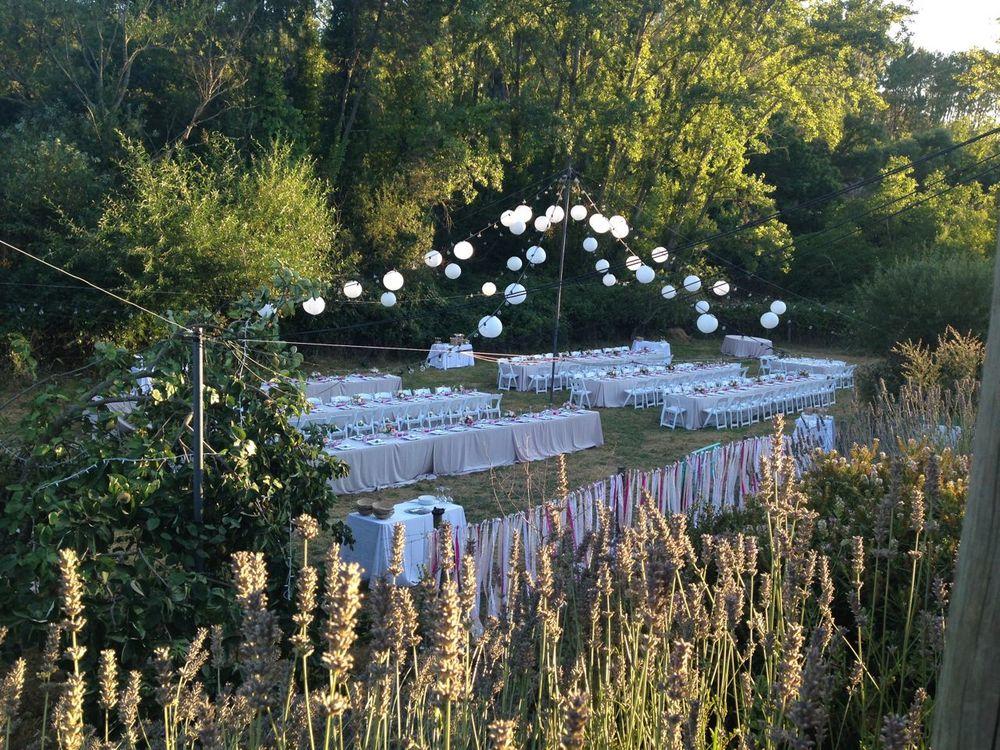 Garden wedding Andalucia
