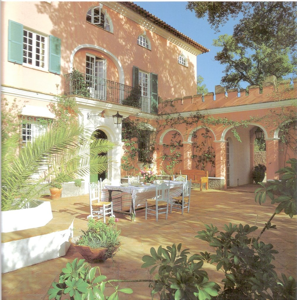 The Front Courtyard