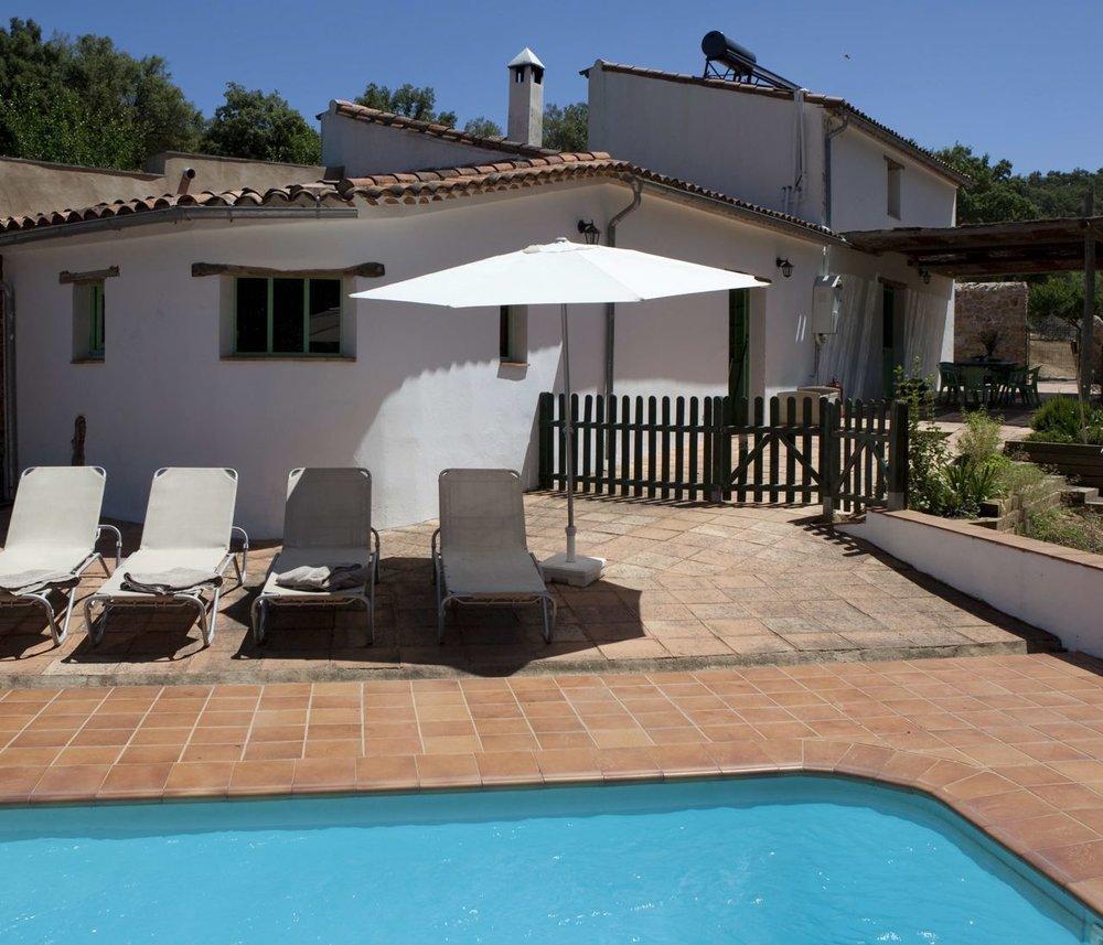 La Maison de Luis avec sa piscine