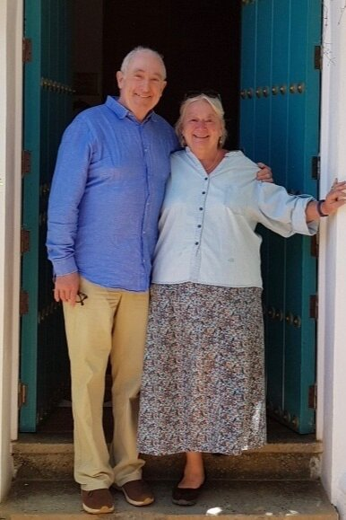 Sam and Jeannie Chesterton have been welcoming guests for over 30 years!  Now they've been  joined by their son Charlie.  (Image: by courtesy of  Sandra De Laszlo)