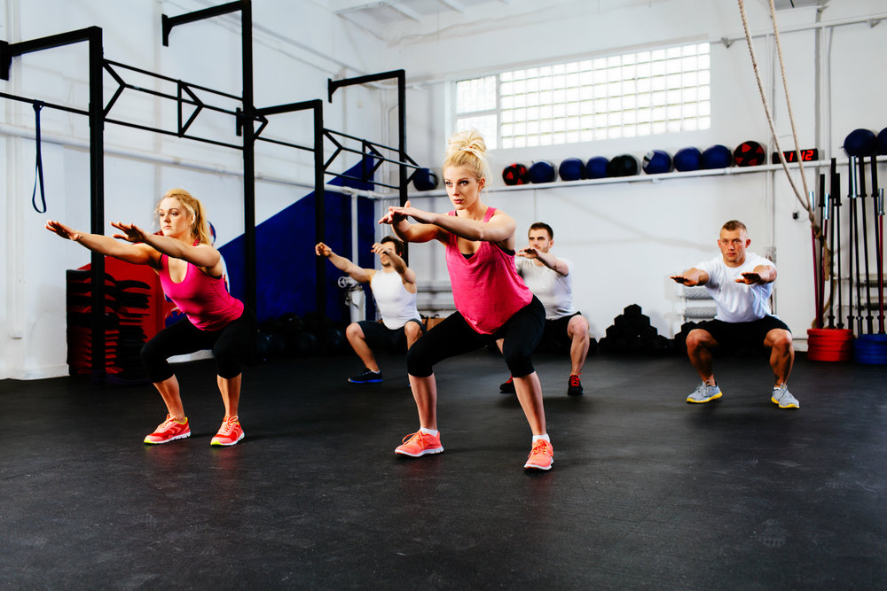 Strength and conditioning exercises, amersham