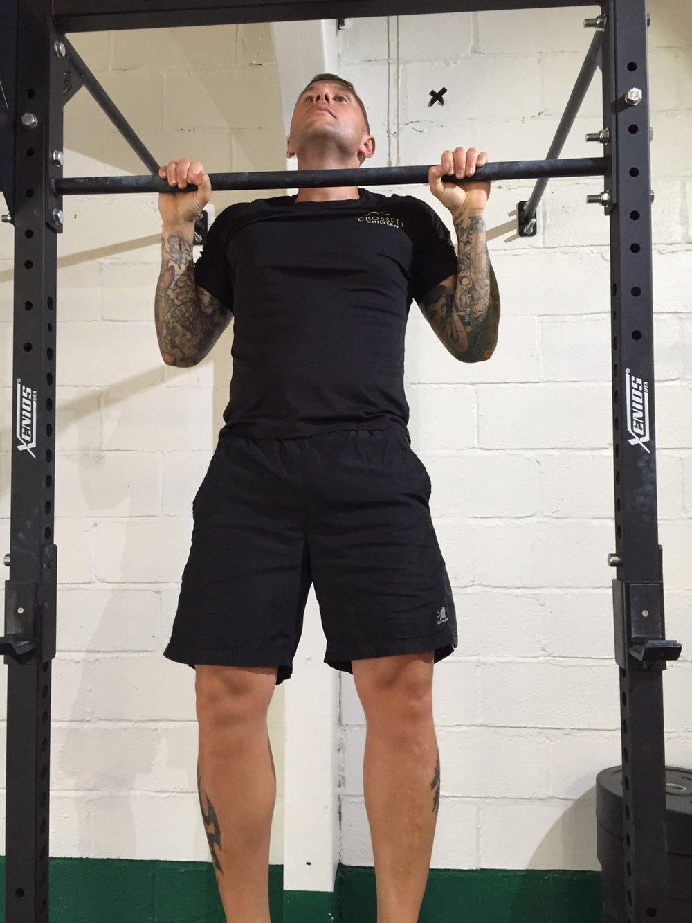 Pull ups, strength exercises, personal training, crossfit, Amersham, chilterns