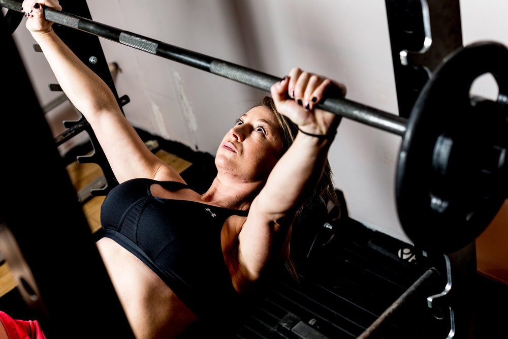Lifting weights will not bulk you up. Weightlifiting for women. Amersham