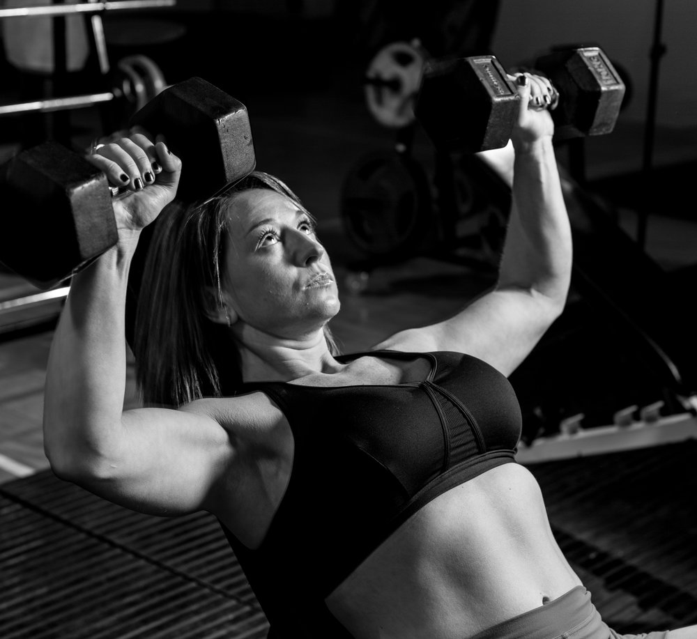 Why women should be lifting weights to help with weight loss and self confidence