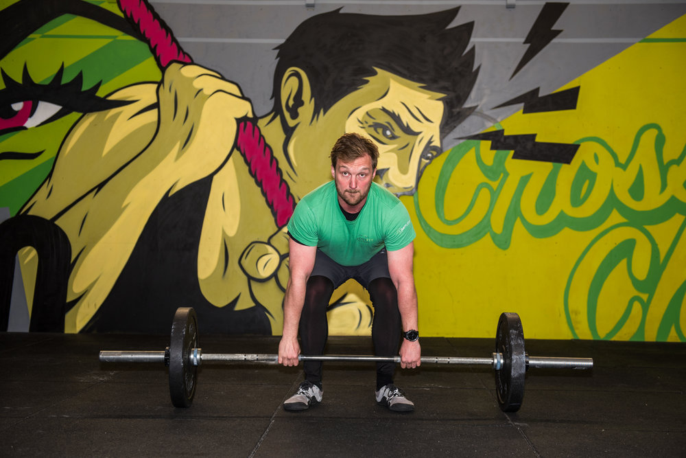 Jeremy Reilly - owner of Crossfit Chiltern