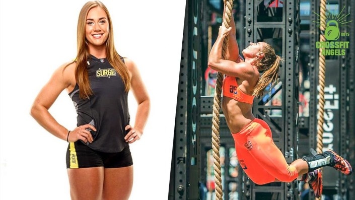 Brooke Wells - Strong woman!