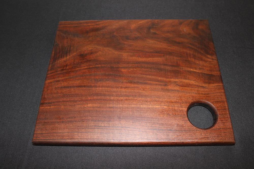 brown wood cutting board