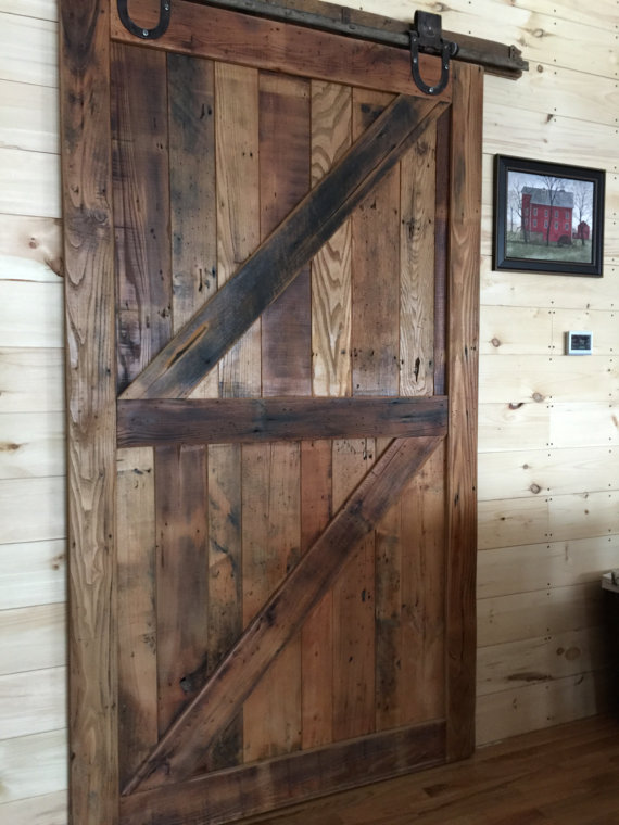 Reclaimed Wood Sliding Barn Door Gravity Woodworking