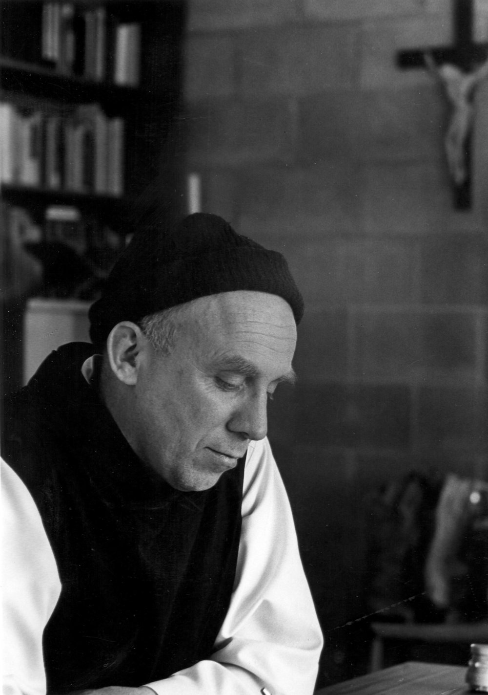 Photograph of Thomas Merton by John Howard Griffin. Used with Permission of the Merton Legacy Trust and the Thomas Merton Center.