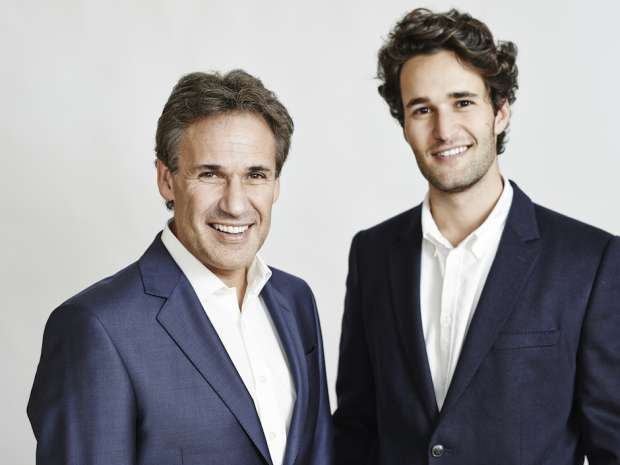 Richard and son Daniel Susskind, co-authors of The Future of the Professions, market leaders in the future business (picture © Oxford University Press).