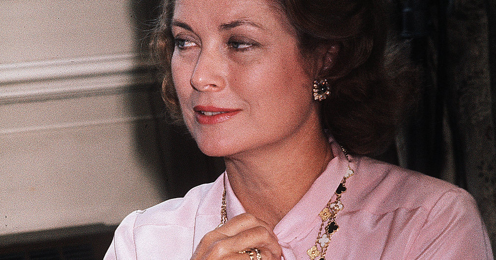 Princess Grace of Monaco in Edinburgh in 1976.