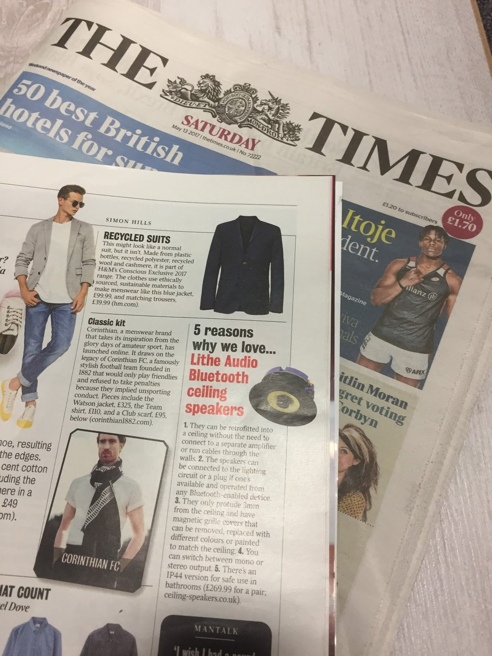 5 reason the THE TIMES love the Lithe Audio speaker    Click here to read more