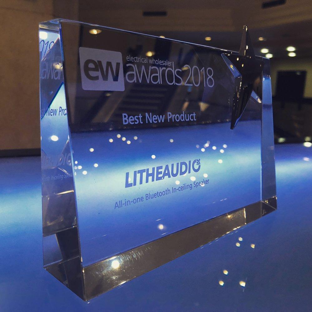 EW Awards 2018 Lithe Audio Best new product award